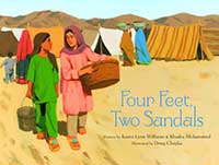 Four Feet, Two Sandals covrer